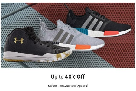 Up to 40% Off Select Footwear and Apparel from Dick's Sporting Goods