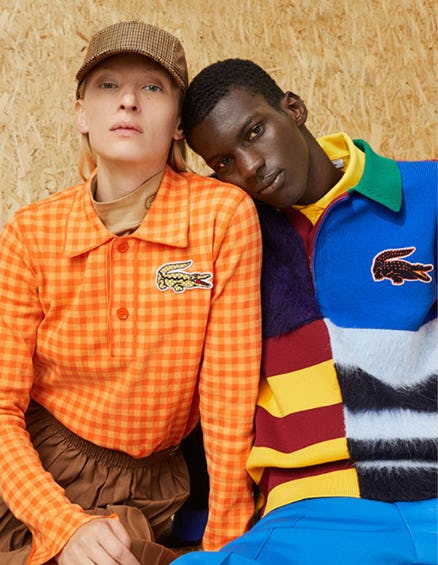 Autumn-Winter 2020 Fashion Show Collection from Lacoste