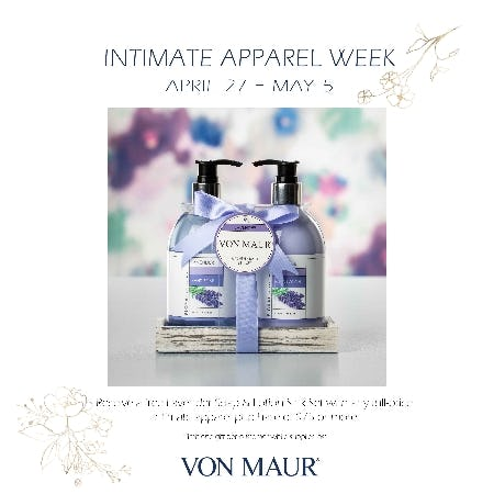 Intimate Week Gift with Purchase from Von Maur