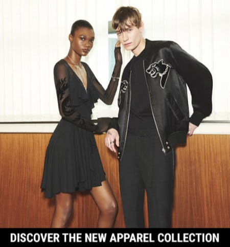 Discover The New Apparel Collection