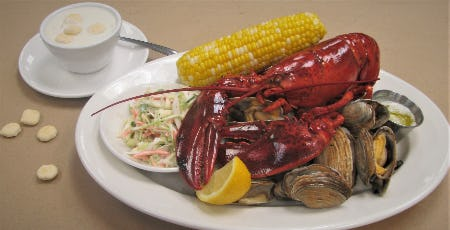 C-Food Mondays: Claws, Clams, Corn, Coleslaw and Chowder!