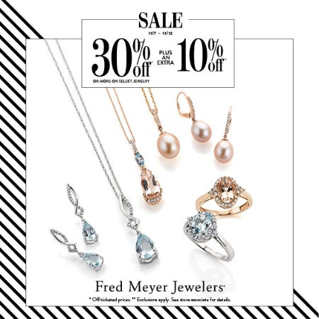 Veterans Day Sale from Fred Meyer Jewelers