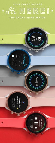 All-New Fossil Sport Smartwatch from Fossil