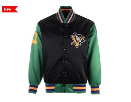 The Mighty Ducks Satin Jacket