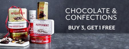 B3G1 Free Chocolate & Confections