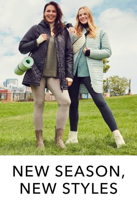 New Season, New Styles from Athleta