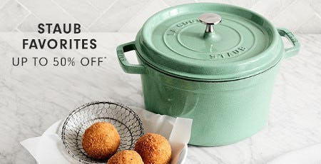Staub Favorites Up to 50% Off from Williams-Sonoma