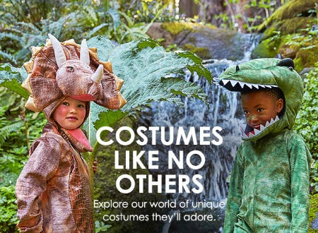 Children's Costumes from Pottery Barn Kids