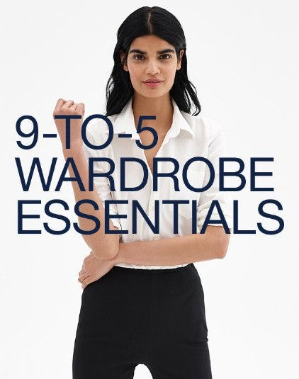 9-to-5 Wardrobe Essentials from Gap