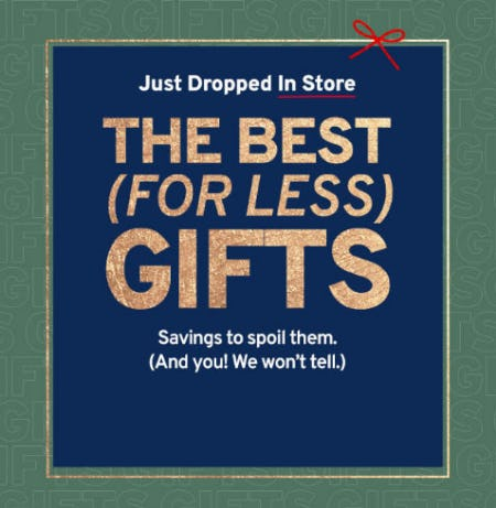 Gifts For Less from Marshalls