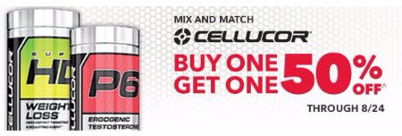 Cellucor Buy One, Get One 50% Off