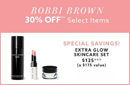 30% Off Bobbi Brown Select Items from Lord & Taylor