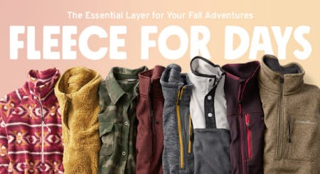 Introducing High Route Grid Fleece from Eddie Bauer