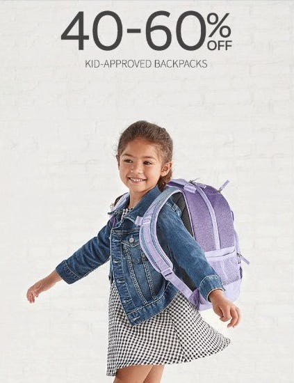 40–60% Off Kid-Approved Backpacks from Pottery Barn Kids