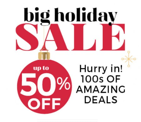 Big Holiday Sale from Stein Mart