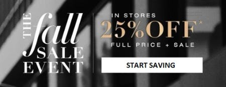 25% Off Full Price and Sale from BCBG