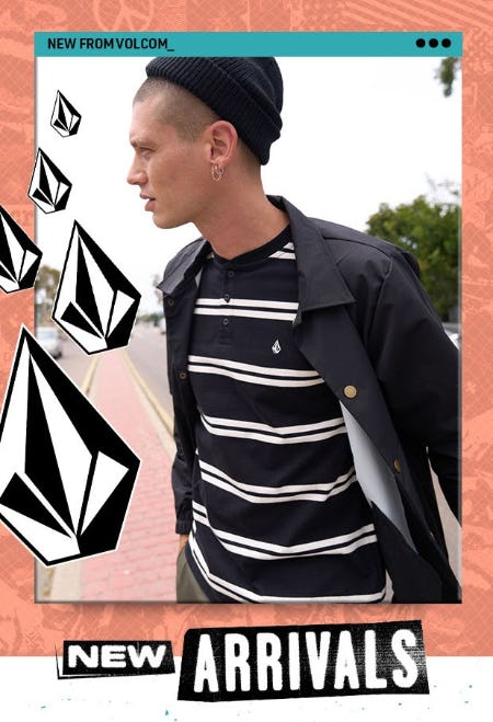 New Arrivals from Volcom from Tillys