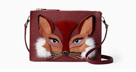So Foxy Clarise from kate spade new york