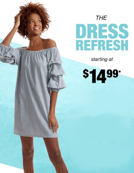New Dresses Starting at $14.99 from Burlington