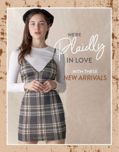 We're Plaidly In Love With These New Arrivals from Papaya