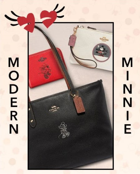 New Minnie Styles by COACH from Disney Store