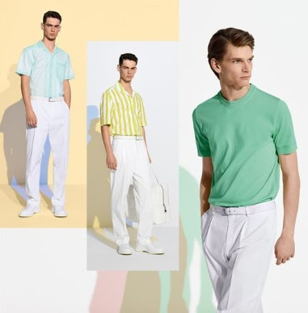 Upgrade your Summer Wardrobe from Boss