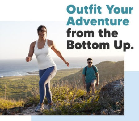 Outfit Your Adventure from the Bottom Up from Eddie Bauer