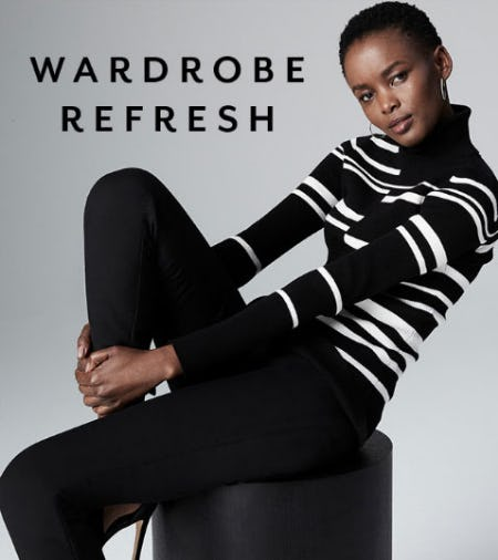 Wardrobe Refresh from White House Black Market