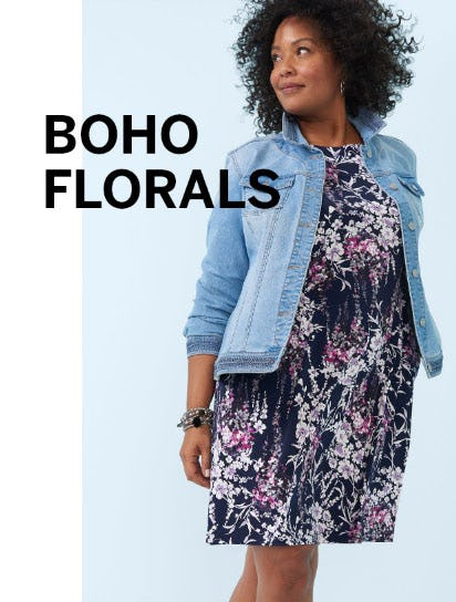 Boho Florals from Dress Barn, Misses And Woman