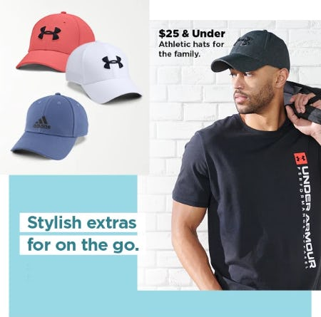 $25 & Under Athletic Hats for the Family from Kohl's