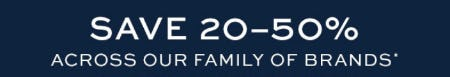 Save 20-50% Across Our Family of Brands from Pottery Barn