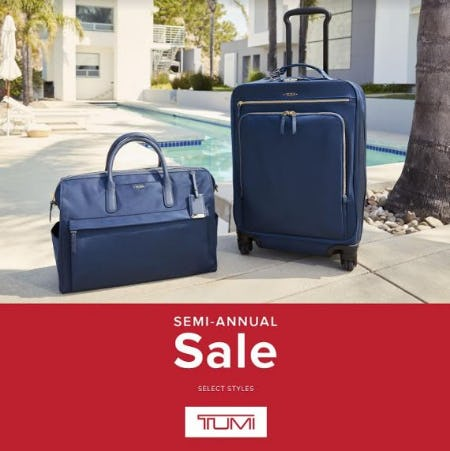 Semi Annual Sale from TUMI