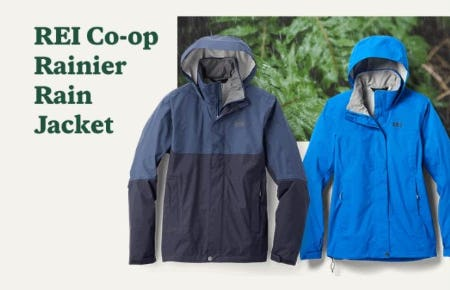 Rain Jackets for your Spring Hikes from REI