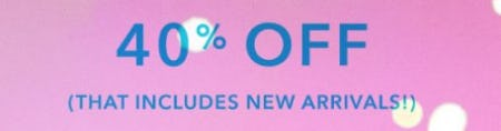 40% Off The AE & Aerie Collections