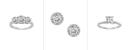Moissanite Collection from Fred Meyer Jewelers