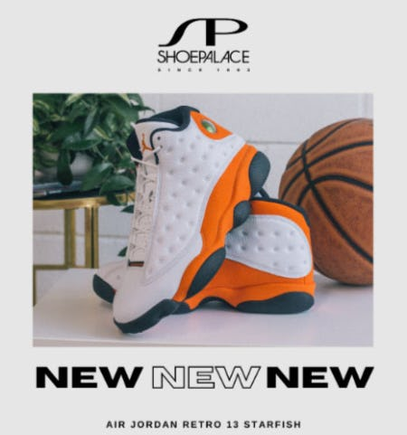 New Air Jordan Retro 13 Starfish from SP Shoe Palace