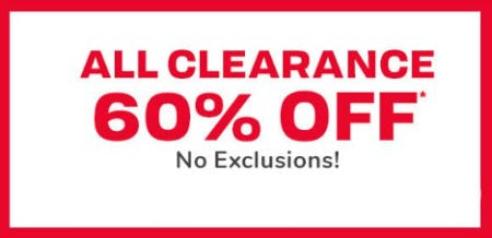 All Clearance 60% Off from The Children's Place Gymboree