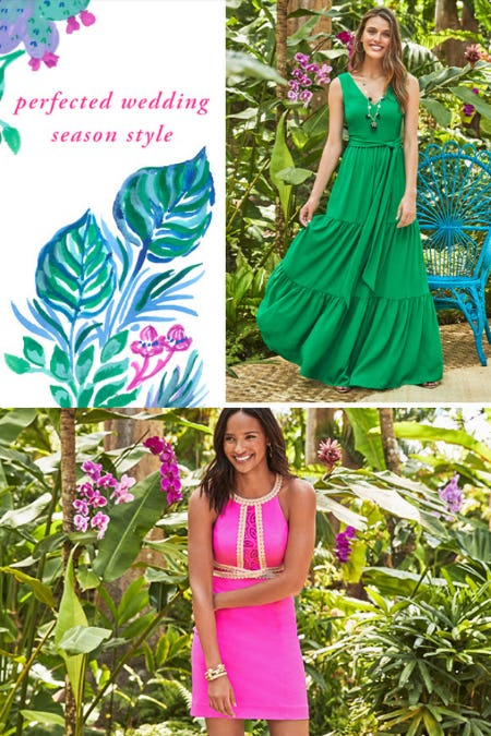 Perfected Wedding Season Style from Lilly Pulitzer