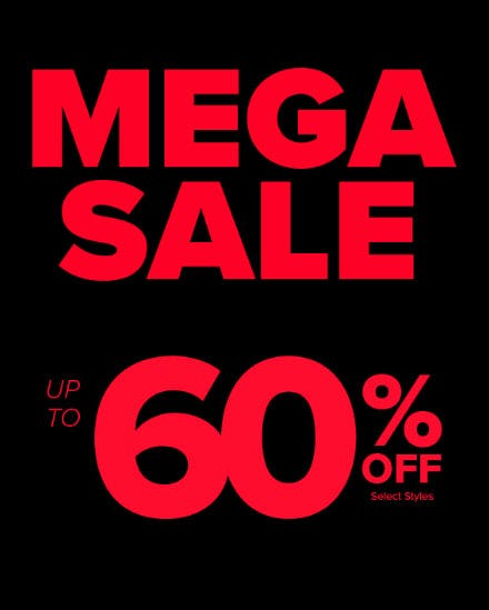 Up to 60% Off Mega Sale from Rainbow