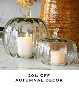 20% Off Autumnal Decor from Pottery Barn