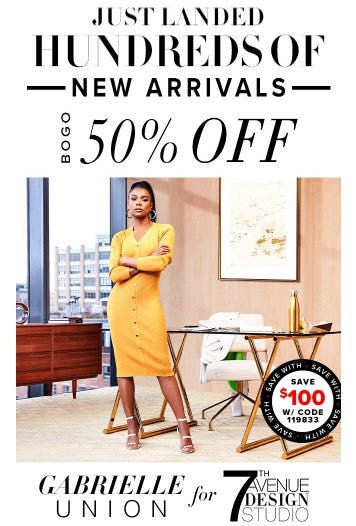 Hundreds of New Arrivals BOGO 50% Off from New York & Company