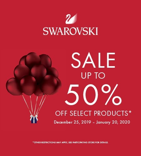 SALE UP TO 50% OFF from Swarovski