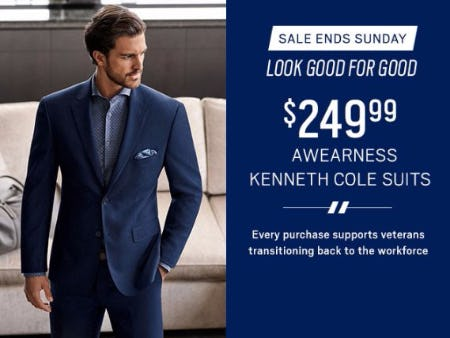$249.99 Awearness Kenneth Cole Suits