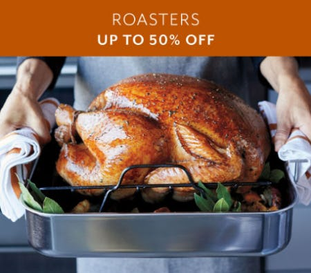 Up to 50% Off Roasters from Sur La Table