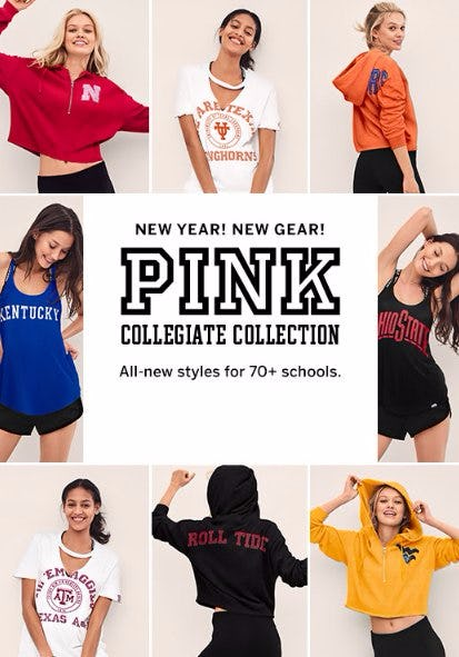 The New PINK Collegiate Collection Is Here
