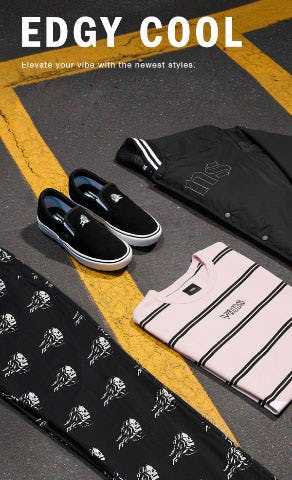 Edgy Cool from Vans