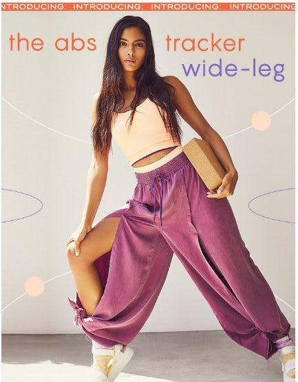 Introducing: The Abs Tracker Wide-Leg from Free People
