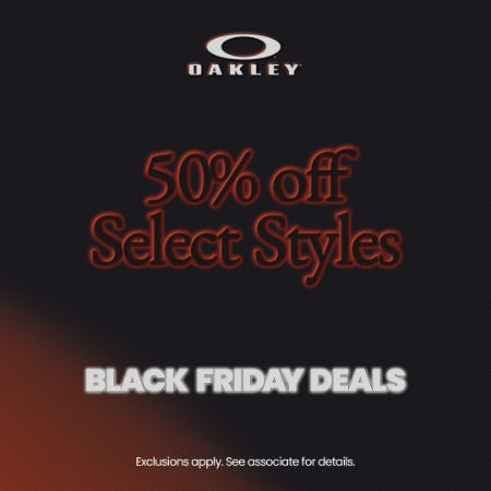 BLACK FRIDAY DEALS from Oakley