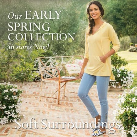Shop our Early Spring Collection! In Stores Now!