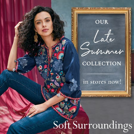 Soft Surroundings Late Summer Collection Now In Stores! from Soft Surroundings